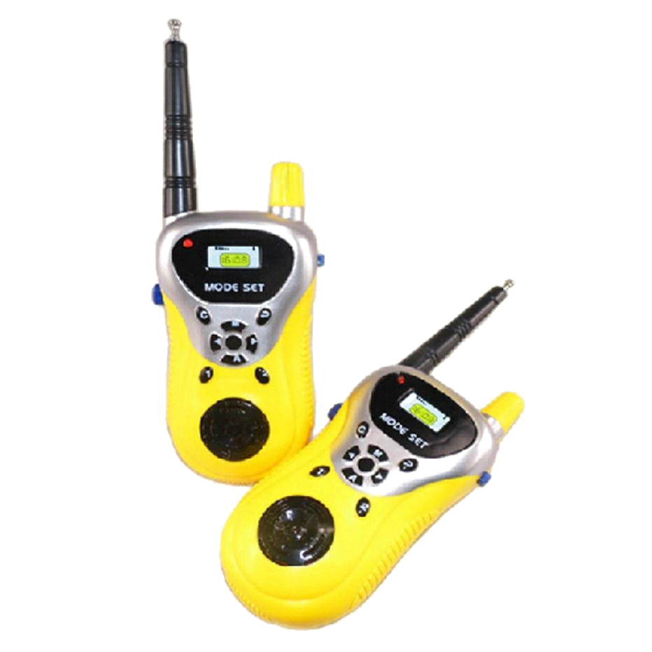 2 Pcs Talkie Walkie pour Enfants Enfants Jouets Électroniques Portable Two Way Radio Set