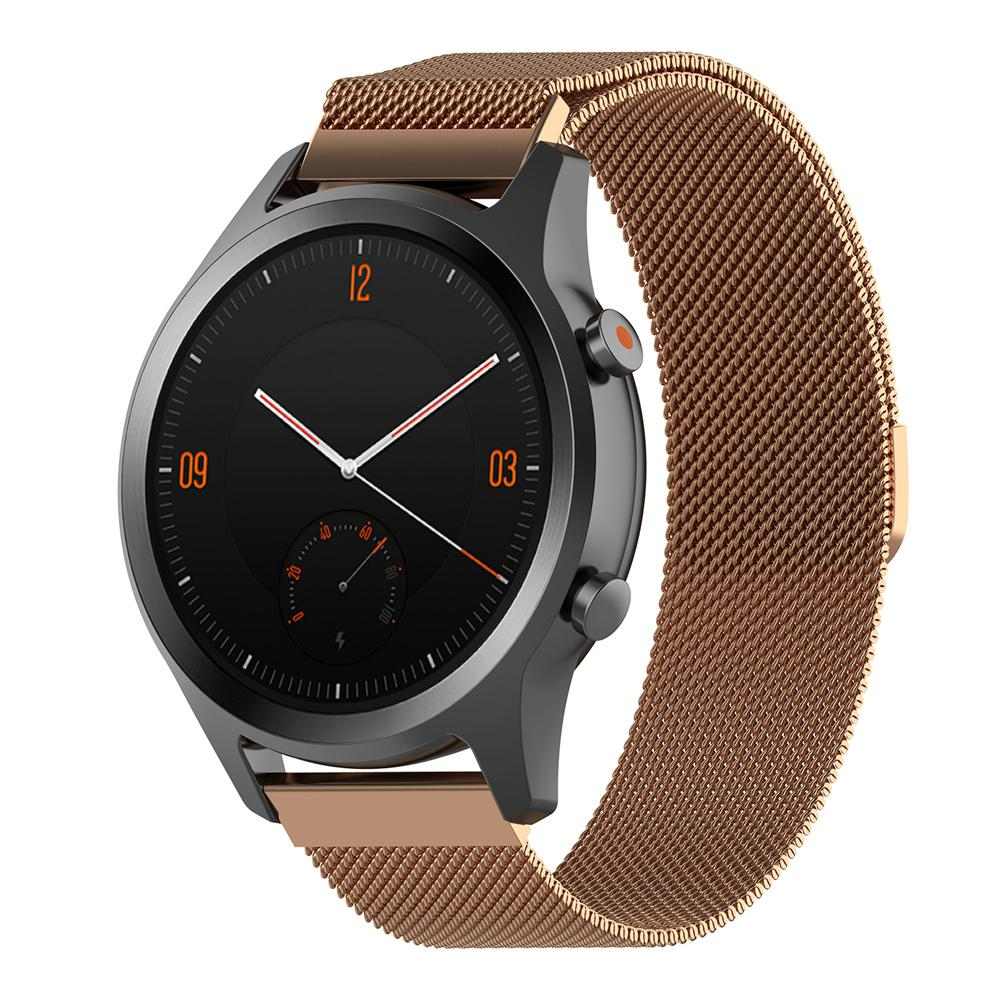 Image 5 - Magnetic Milanese Replacement Watch Band Stainless Steel  Wrist Strap Softness  Adjustable 18MM / 20MM For Tic Watch C2-in Smart Accessories from Consumer Electronics