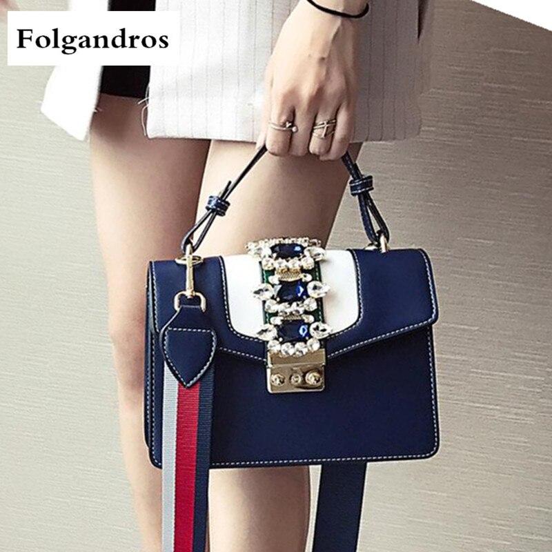Famous Brand Women Handbag Diamond Gemstones Luxury Designer Tote Crossbody Bags with Colorful Shoulder Strap Women Shoulder Bag цена и фото