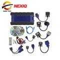 2017 New NEXIQ USB Ligação Caminhão Ferramenta de Diagnóstico Com Conjunto Completo NEXIQ 2 Ligação USB Com Software Diesel Truck Interface DHL livre