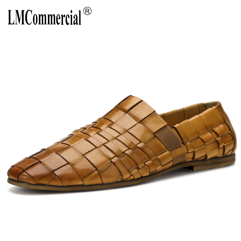 High Quality Genuine Leather British Breathable Business Leisure Lazy Shoes men casual natural leather loafers cowhide springHigh Quality Genuine Leather British Breathable Business Leisure Lazy Shoes men casual natural leather loafers cowhide spring