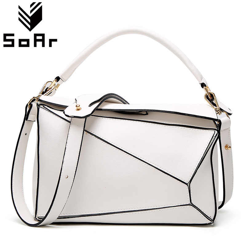5f9150f53590 SoAr New Arrival Women Bag Luxury Brand Leather Ladies Totes Stitching  Women's Handbags Female High Quality Cute Shoulder Bags 4