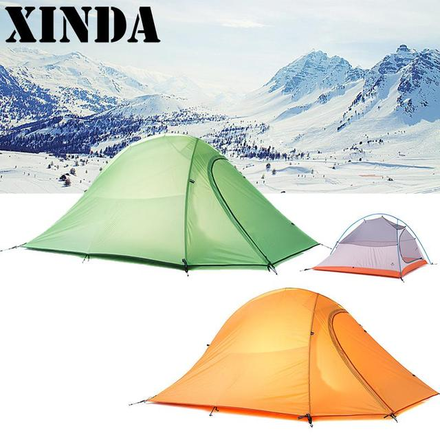 Four Season Outdoor 2 Persons C&ing Tent Waterproof Ultralight Tents Lightweight Double Layer 2 Man Tent  sc 1 st  AliExpress.com & Four Season Outdoor 2 Persons Camping Tent Waterproof Ultralight ...