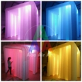 hot sale outdoor cube tent top quality inflatable photo booth/ Inflatable wedding photo booth