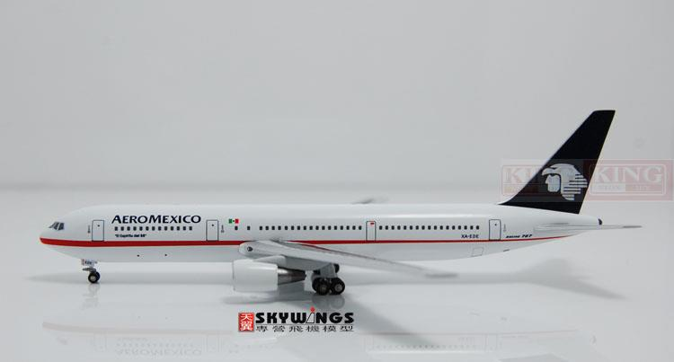 WT4763002 Witty Mexico Airlines XA-EDE 1:400 commercial jetliners plane model hobby B767-300 spike wings xx4502 jc turkey airlines b777 300er san francisco 1 400 commercial jetliners plane model hobby