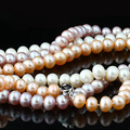 9-10mm Big Natural Pearl Necklace Special offer Super Mother's Gift Wedding Jewelry