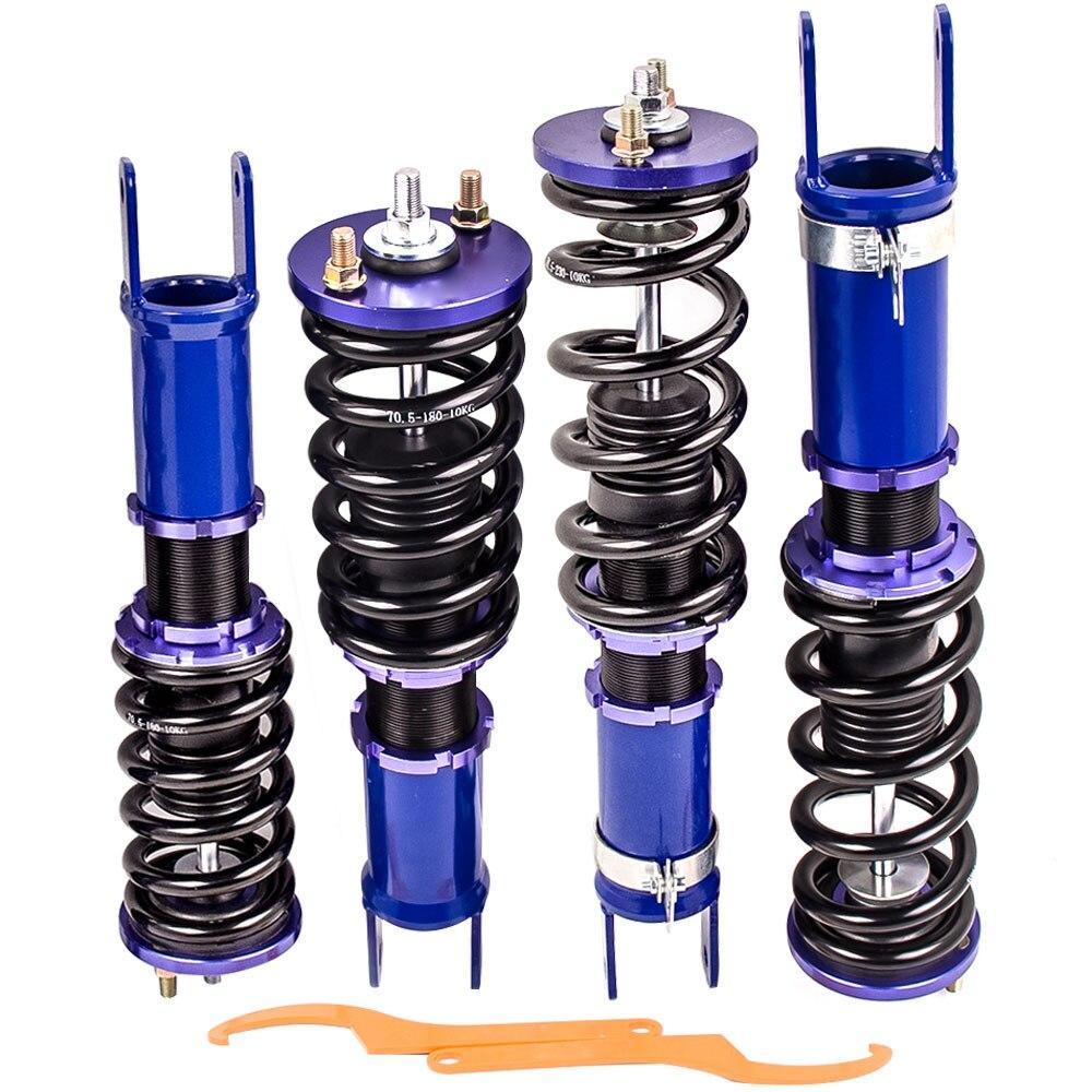 Full kit Shock Absorber Struts Coilover For Honda S2000 Roadster AP1 AP2 99-09 Shock Absorber Struts blue