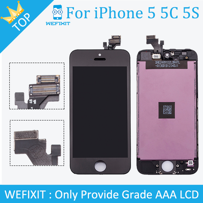 10PCS Hot Sale Grade AAA For Apple iPhone 5 LCD Display