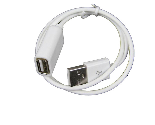 1pcs USB 2.0 Male to Female Extension Data 50cm 1M Extender Charge Extra Cable for iPhone 4 5 6 Plus For Samsung S6 Note4 1