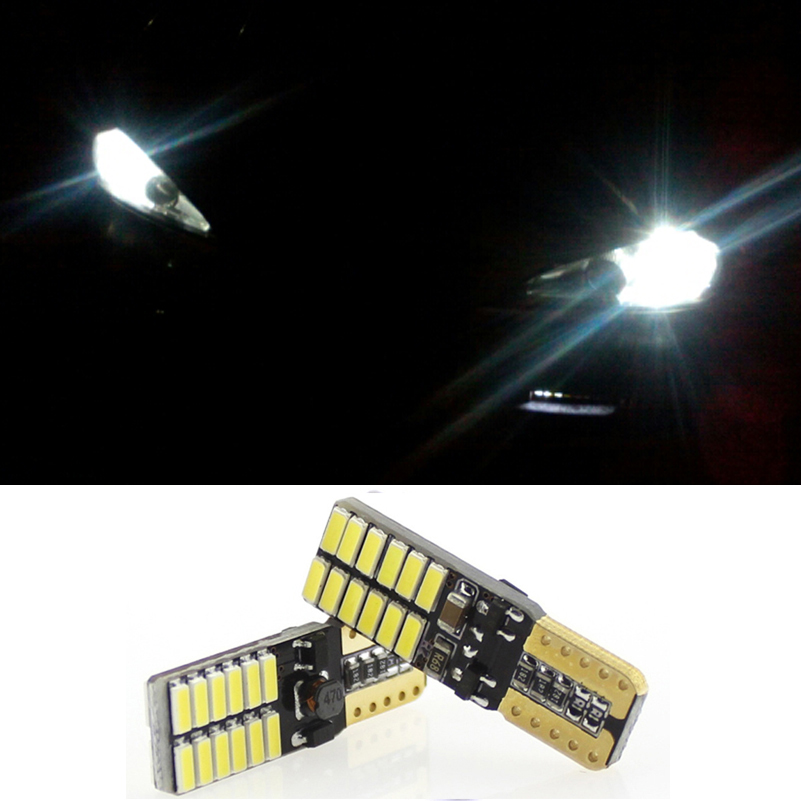 T10 W5W Canbus LED Car Parking Light Clearance Lighs For Ssangyong Kyron Actyon Sport Korando Rexton Musso Stavic Rodius Tivoli image