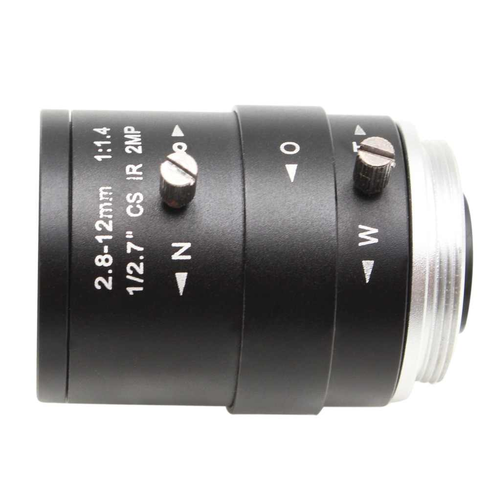 HD CCTV Камера объектив 2,8-12 мм объектив с переменным фокусным HD объектив камеры наблюдения ручного зума и фокуса M12/CS ручное крепление