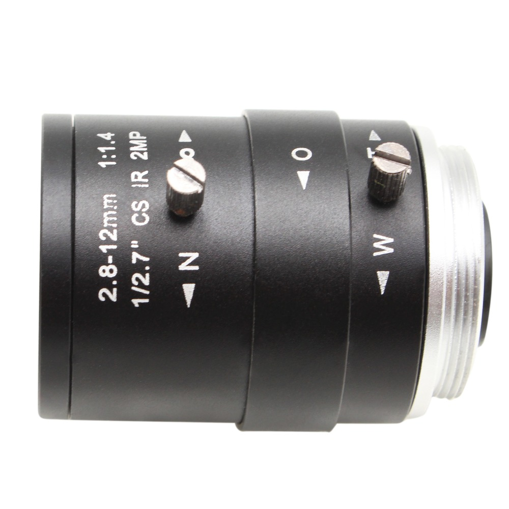 HD CCTV Camera Lens 2.8-12mm Varifocal HD Security Camera Lens Manual Zoom & Focus M12/ CS Mount