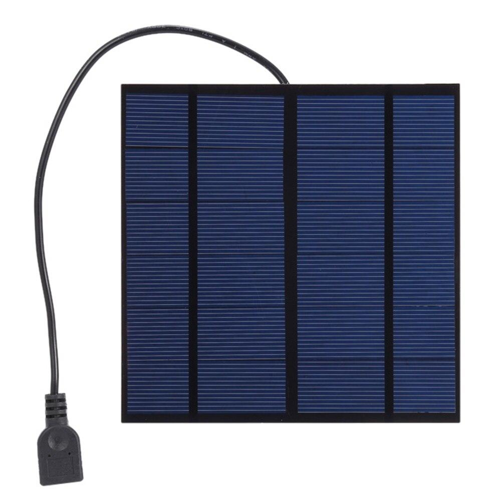 SUNWALK 4 W 5 V Monocristalino Silicio Solar Panel Cargador de Viaje Al Aire Lib