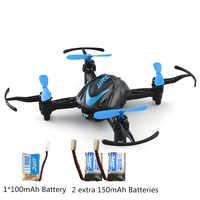 JJRC H48 Mini Drone 6 Axis Micro RC Quadcopter Control de doble carga modo RC helicóptero Vs JJRC H36 Dron mejor juguete interior para niños