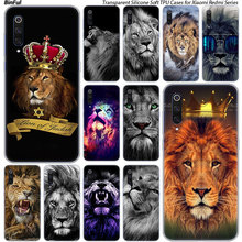 Hot Animal lion Silicone Case For Xiaomi Pocophone