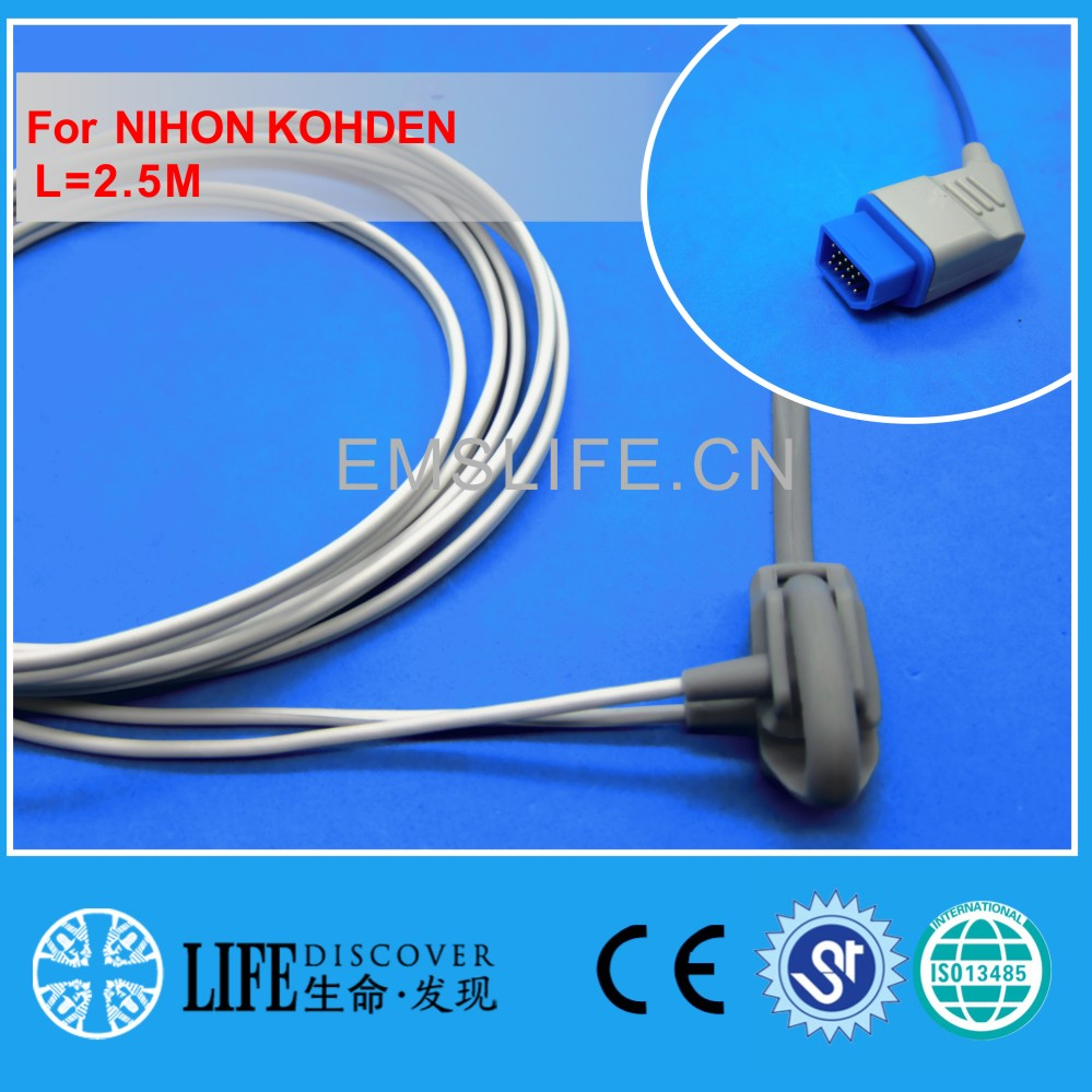 Long cable neonate wrap spo2 sensor for NIHON KOHDEN patient monitor ...