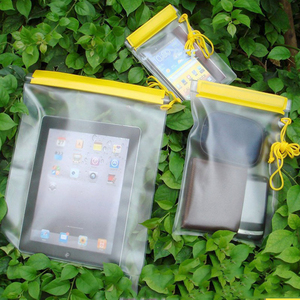 3Pcs Waterproof Dry Bag Clear Case Outdoor Pouch Canoe Floating Boating Kayaking Camping Water-Resistant Bags For Phone