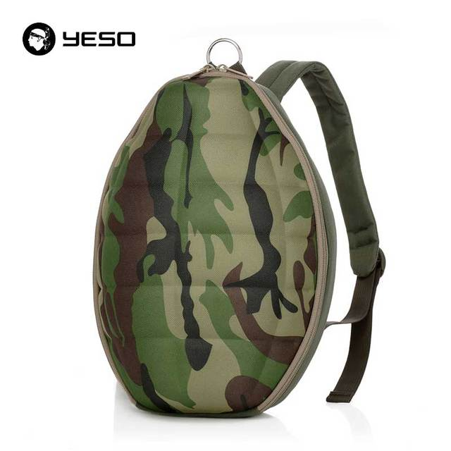YESO Brands Camouflage Grenade Backpack For Teenager 2019 Fashion Multifunction Big Space Backpack Men Polyester School Backpack