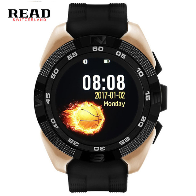 READ Smart Watch Men Watches Men's Smartwatches Heart Rate Step Counter Call Bluetooth Bluetooth Sports Watch For IOS Android bozlun sports smart watches heart rate lcd color screen men multifunction digital wristwatches calories step counter watch l42a