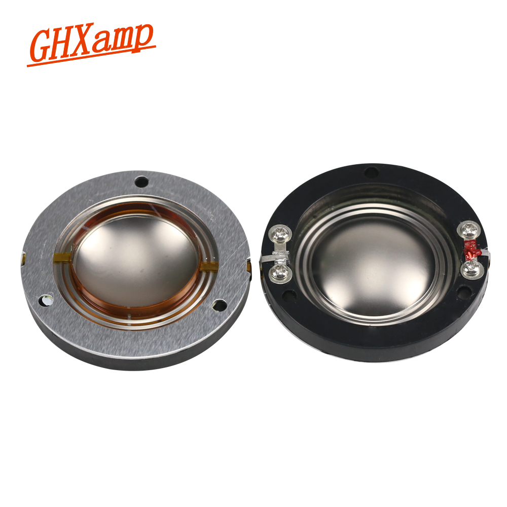 hight resolution of online shop ghxamp 34 4mm titanium diaphragm tweeter voice coil flat wires horn 34mm core 8ohm speakers repair accessories driver diy 2pcs aliexpress