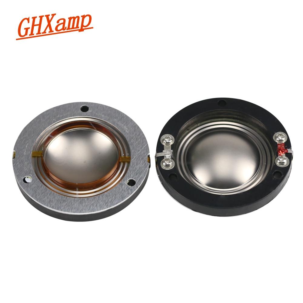 Ghxamp 344mm Titanium Diaphragm Tweeter Voice Coil Flat Wires Horn Piezo Wiring Diagram 4 34mm Core 8ohm Speakers Repair Accessories Driver Diy 2pcs In Speaker From