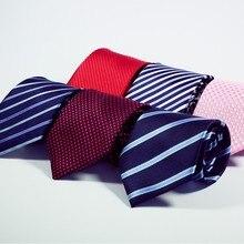 Новая мода Интимные аксессуары галстук высокое качество 8 см Для мужчин галстуки для костюм Бизнес Свадьба Повседневное черный, красный