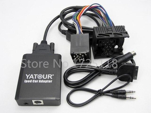 yatour for bmw 17 pin round connector car integration kit interface rh aliexpress com iPod Mini to USB Adapter BMW iPod Integration