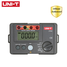 купить UNI-T UT522 Digital Earth Ground Resistance Tester AC Earth Insulation Resistance Tester