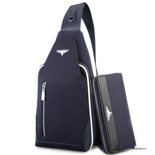 Aliexpress.com : Buy Brand Lenwebolo Hot fashion chest bag ...