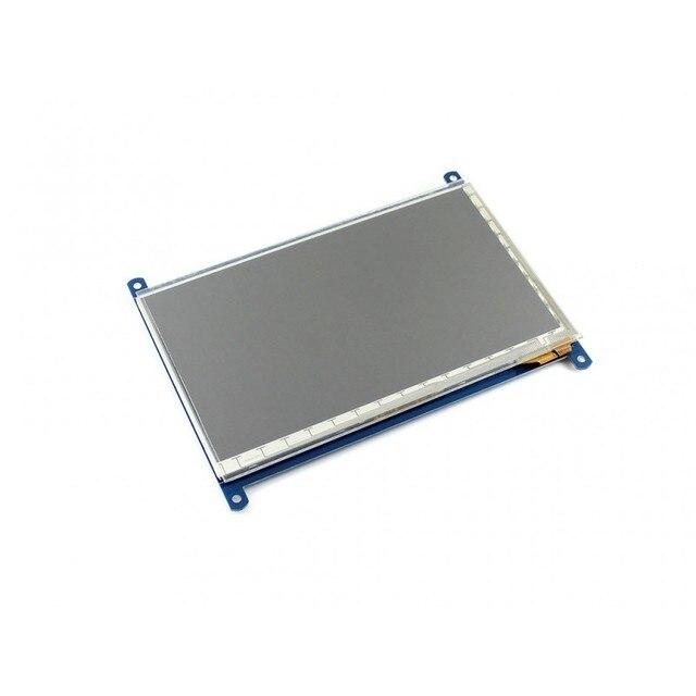 Waveshare 7 дюймов Емкостный Сенсорный ЖК-ДИСПЛЕЙ (F) 1024*600 Многоцветный Графический ЖК-ДИСПЛЕЙ автономный сенсорный контроллер TFT LCD