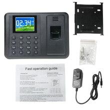 A8 DC5V 1A Biometric Fingerprint Time Attendance Clock Recor