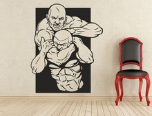 New arrival Art Decor UFC Wall Decal Sports Vinyl Sticker Removable Waterproof