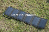 Solarparts 1x5 5V 12W Foldable Solar Charger System Outdoor Camping Tourism Mountaineering Phone Camera Battertycharging Cell
