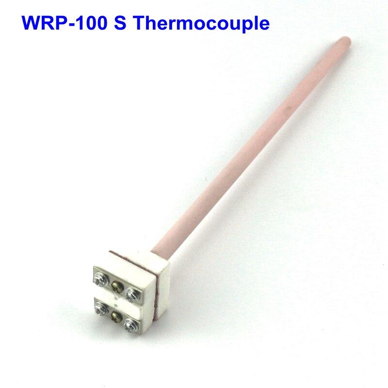 S type Platinum and Rhodium Thermocouple Probe WRP-100 ProbeTemperature Sensor 1350 Degree монтажно тяговый механизм able wrp 16 20
