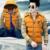 Roupas de marca Homens Jaqueta de Inverno de Algodão Quente Para Baixo Casacos Parka Chaqueta Hombre 2017 Revestimentos Do Inverno Dos Homens de Luxo À Prova de Vento Dos Homens