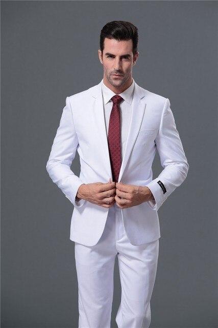 Personalizar hombres Trajes moda fit negocios Trajes manga larga del smoking  boda Trajes y Blazers bola 172f74e247c