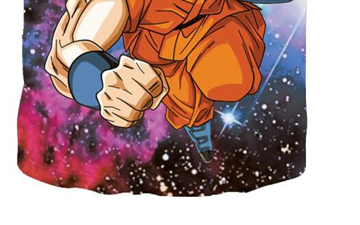 Dragon Ball Z Super Saiyan Blue T Shirt.