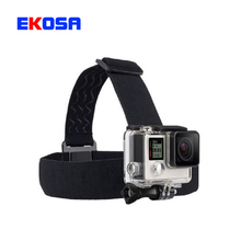 Action Camera Gopro Accessories Headband Chest Head Strap Mount Monopod For Go pro Hero 3 3+ 4 5 SJ4000 SJ5000 Sport Cam Helmet