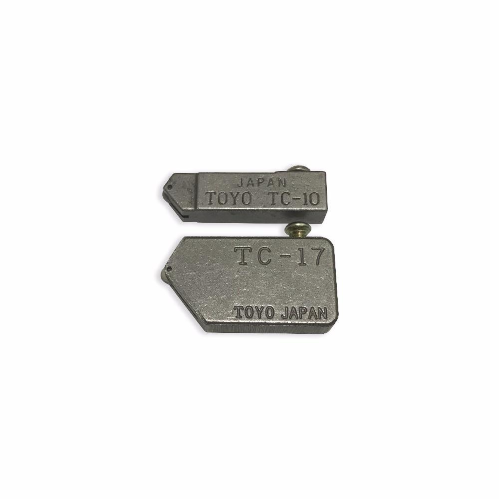 จัดส่งฟรี2ชิ้น/ล็อต, toyo TC-10และTC-17เปลี่ยนกระจกกระเบื้องตัดหัว