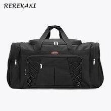 REREKAXI, Большая вместительная мужская дорожная сумка, Женская водонепроницаемая Полиэфирная Сумка для ручной клади, мужские дорожные сумки для путешествий, упаковка кубиков