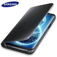 Original Samsung Galaxy S8 S 8 Plus Mirror Flip Case Cover 360 Cute Shockproof Leather Armor