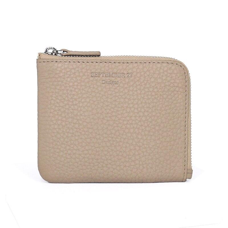 все цены на  women wallets luxury brand Genuine Leather lady Zipper Coin Purses Travel Mini Wallet slim men change purse Card Holders Pocket  онлайн