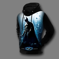 [XHTWCY] Fashion 2019 batman mens hoodies sweatshirts batman print hoodie tracksuit men jack coat