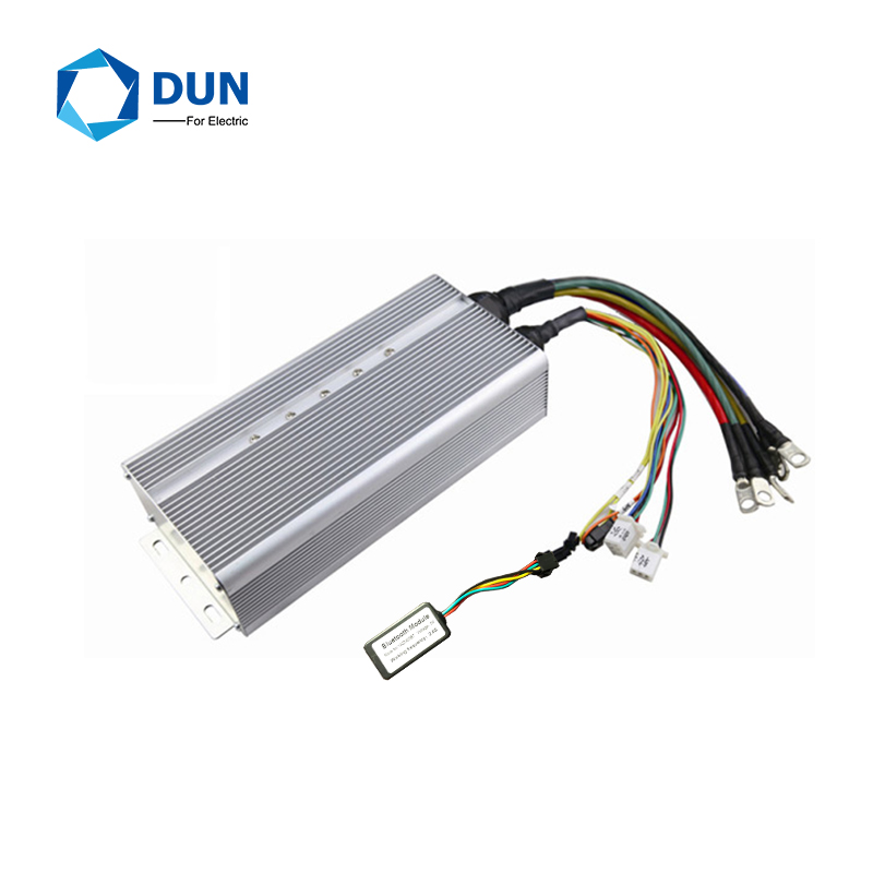 HOT SALE Yuyang King YKZ12080 60V 72v 120V 80A 1-3KW BLDC Controller With Bluetooth For Electric Scooter Motor