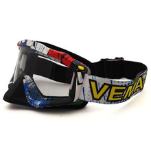 MJ81 QL037B Motocross Goggles Cross Country Skis Snowboard ATV Mask Oculos Gafas Motorcycle Helmet MX Goggles Spectacles