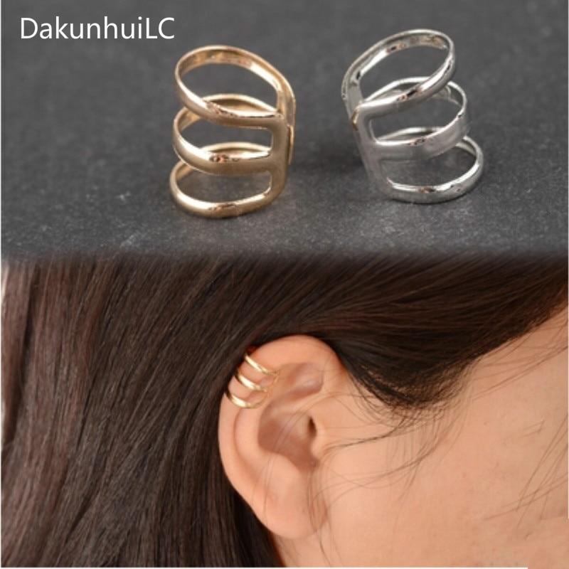 2019 New Fashion Punk Rock Ear Cuffs Earrings Earrings No Earrings Men 's Women' S Jewelry Party Ear Clip