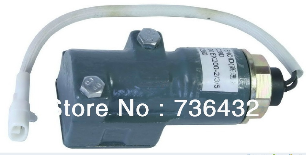 Free shipping!High-speed Solenoid Valve for Hitachi excavator EX200-5 9120191,the coil of excavator spare parts wholesale solenoid valve for excavator e320 4i 5674 5pcs lot free shipping