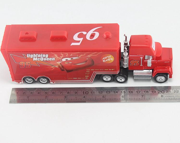 Pixar-Cars-Diecast-No95-Mack-Racers-Truck-Metal-Toy-Car-For-Children-155-Brand-New-In-Stock-McQueen-Alloy-Car-Model-Toy-3
