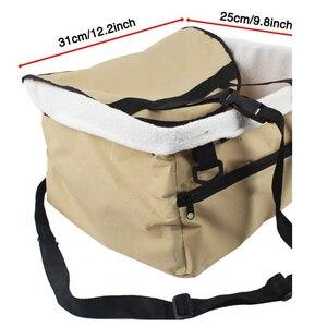 Image 2 - Car pet nest Pet Dog Carrier Pad Dog Seat Bag Basket Pet Products Safe Carry House Cat Puppy Bag Dog Car Seat freeshipping