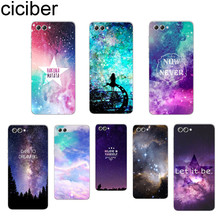 ciciber Starry sky Northern Lights For Honor 8 9 10 X Lite Pro Play TPU Clear Back Cover Soft Silicon Phone Cases Fundas